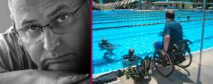 Обучение дайвингу людей с инвалидностью. Инструктор Fraser Bathgate