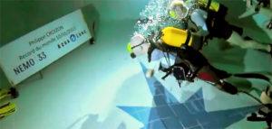 Установлен рекорд глубины для дайвера с инвалидностью!