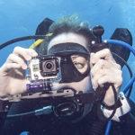 Как снимать экшн-камерой, <br>если вы гребете руками